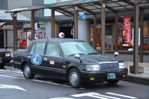 目玉おやじとタクシー