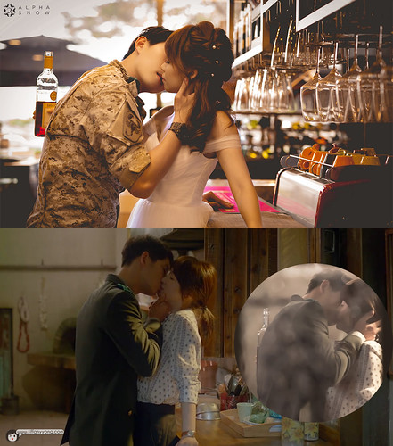 Descendants of the Sun Ep5 Wine Kiss | by tiffanyyongwt
