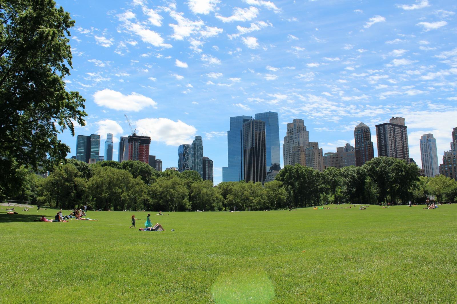 Kuva New Yorkin keskuspuistosta osana New Yorkin parhaat nähtävyydet postausta