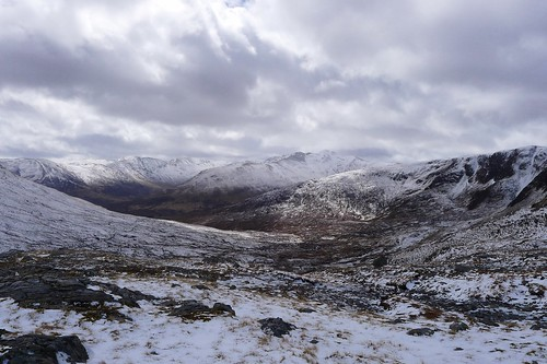 Looking towards Glen Affric | by Nick Bramhall