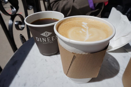 Dineen Coffee Co latte and coffee | by willrobertsn