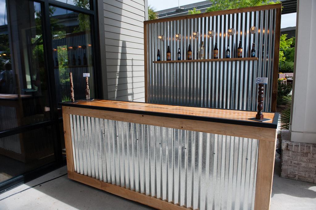 Corrugated Metal Bar (Large) and Corrugated Metal Backdrop… | Flickr