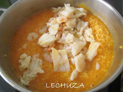 02 arroz con bacalao y gambas 3 the cooking owl flickr - Bacalao con garbanzos y patatas ...