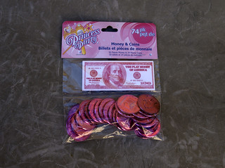 Princess Money from the Dollar store | by Judith E. Bell