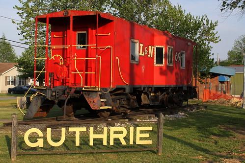 L&N Caboose #369 - Guthrie, KY