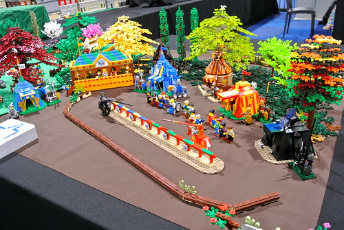 Joust (WIP) at LEGO World | by P@u! +ox