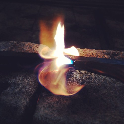 Gas welding fun. Its a poetic, slow motion landscape with flowery sparkles.. | by innerayl