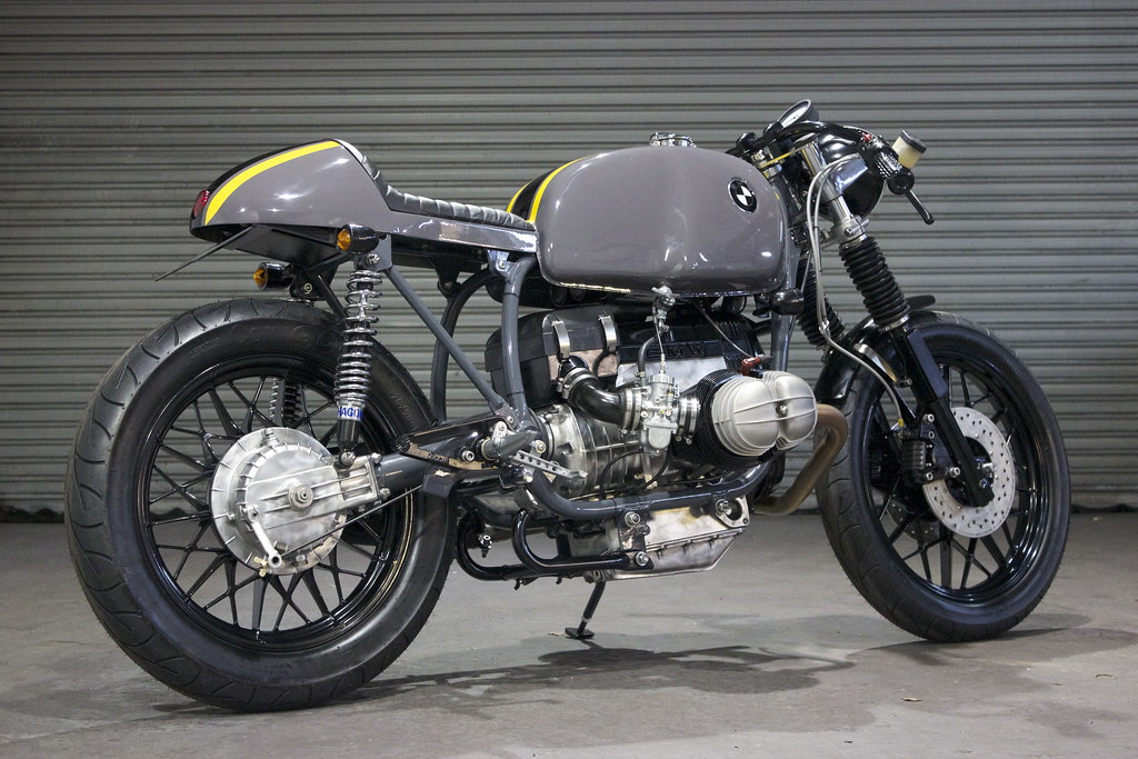 Bmw Cafe Racer R100 Vault Built By Kevils Speed Shop Flickr