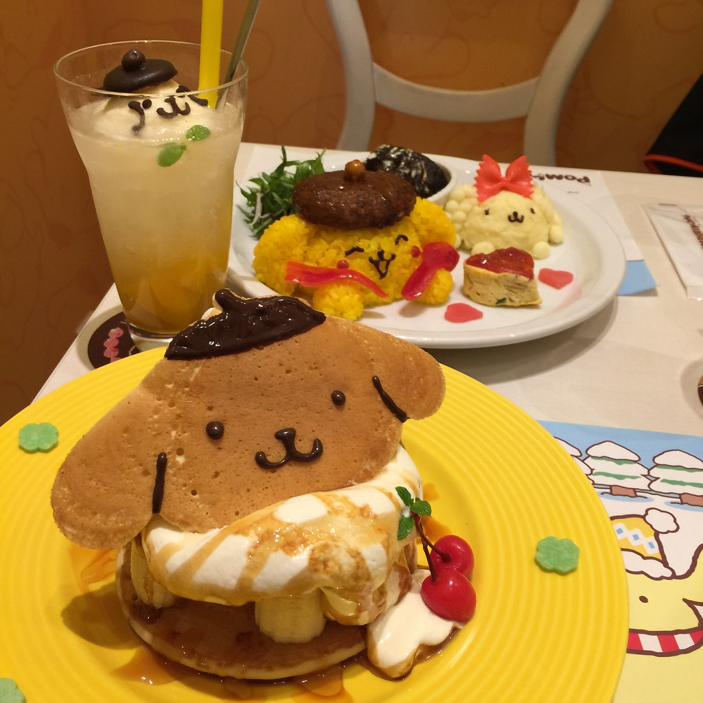 Resultado de imagen para Pompompurin Cafe harajuku