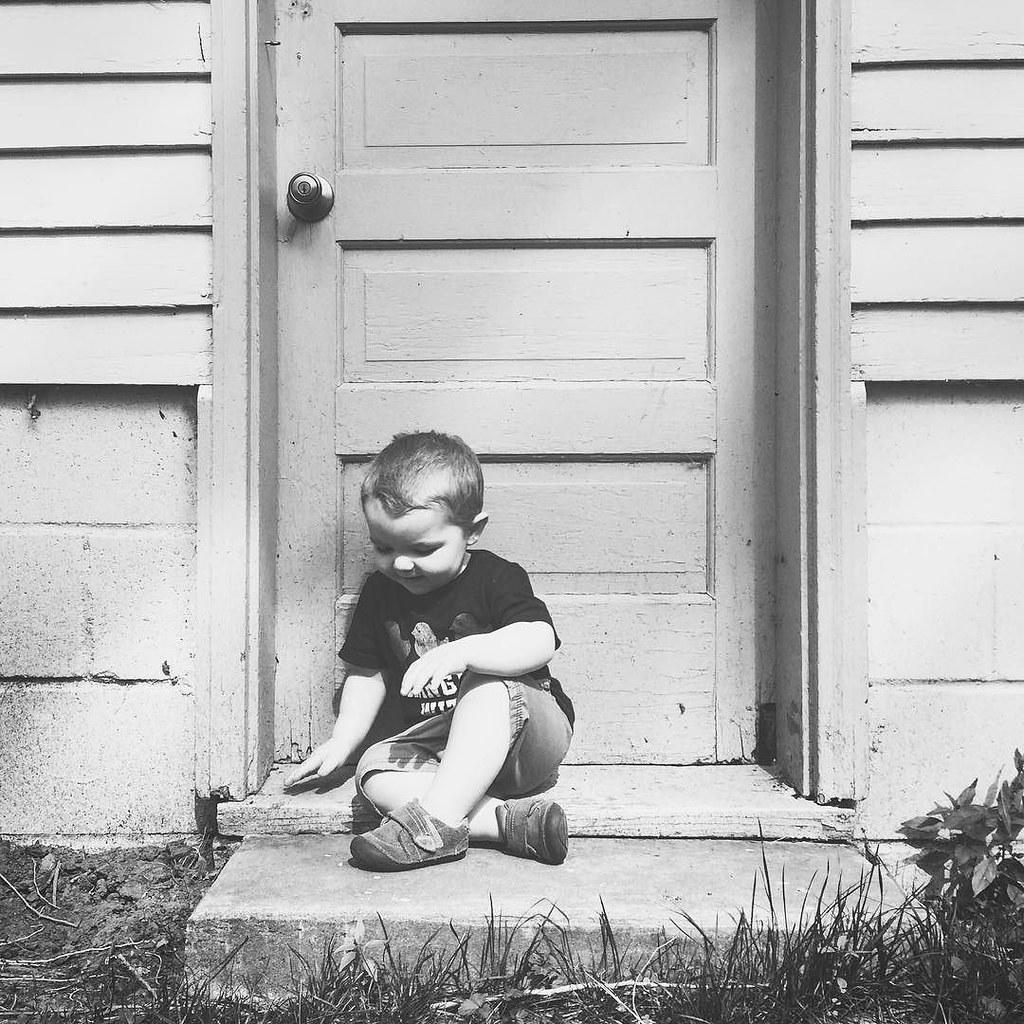 Ezra in the afternoon. // #childhoodunplugged #ezrayuuto #aksarbenliving