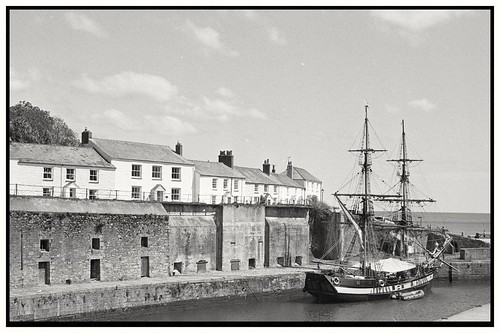 Schooner in Charlestown Harbour | by Whangdoodle1