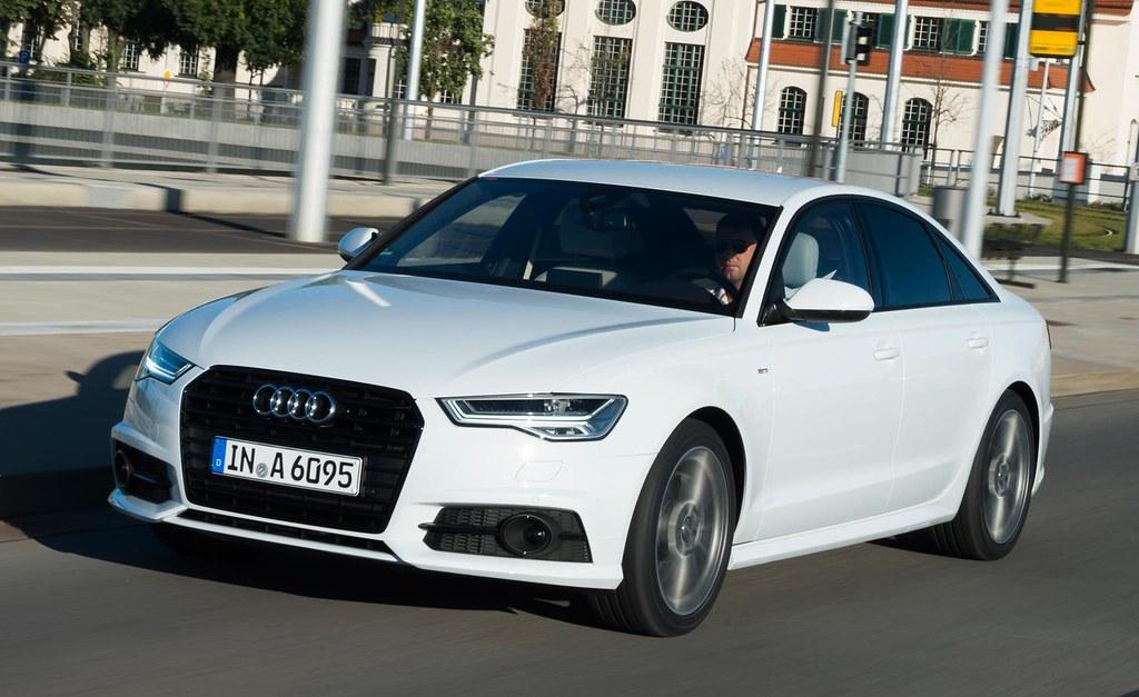 ... 2015 Audi A6 White #2015, #A6, #Audi, #White #
