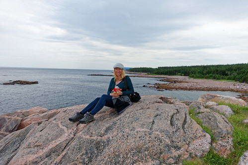 Cynthia On Cabot Trail | by baldheretic