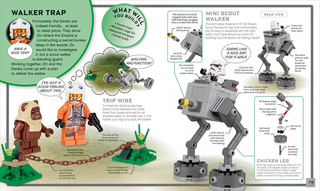 LEGO Star Wars Build Your Own Adventure book - Endor | Flickr