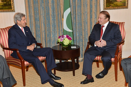 Secretary Kerry Meets With Pakistani Prime Minister Nawaz Sharif | by U.S. Department of State