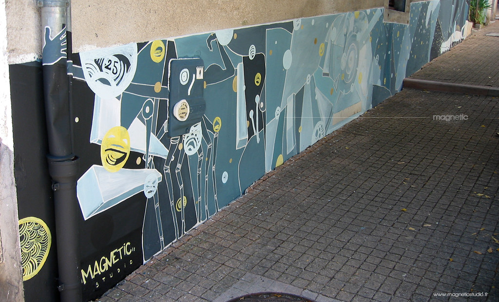 Street Art Mural Painting Peinture Murale Wall By