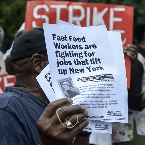 Fast Food Strikes, NYC, July 2013 | by Annette Bernhardt