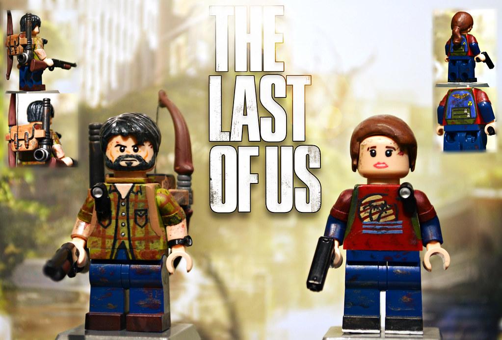 Lego The Last Of Us Joel Ellie By Mgf Customs Reviews