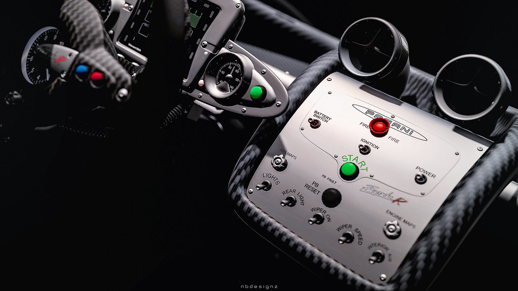 Pagani Zonda R - Dashboard   Nicolas   Flickr