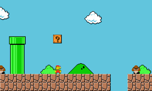 Suer Mario World Chocalte Island  Map
