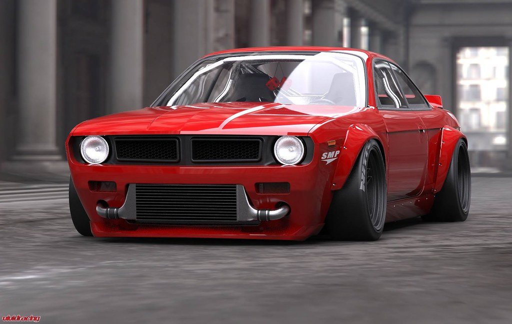 Jdm Muscle Rocket Bunny Widebody S14 Project Revealed Flickr