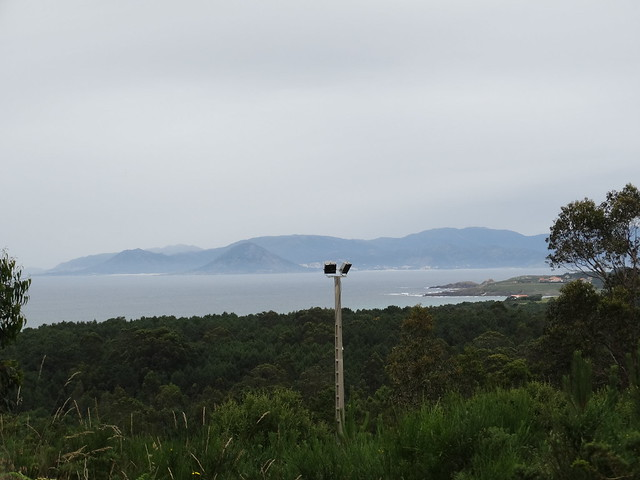 Vistas ría de Muros e Noia en Porto do Son