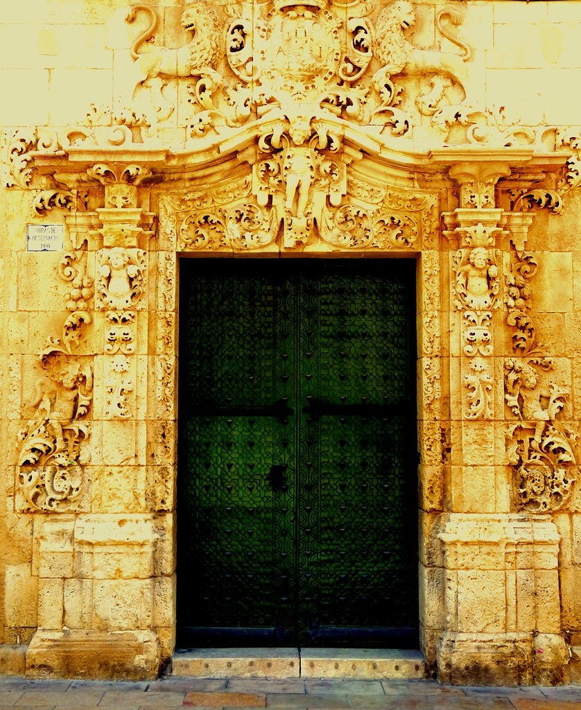 Spanish Door Alicante #Dailyshoot