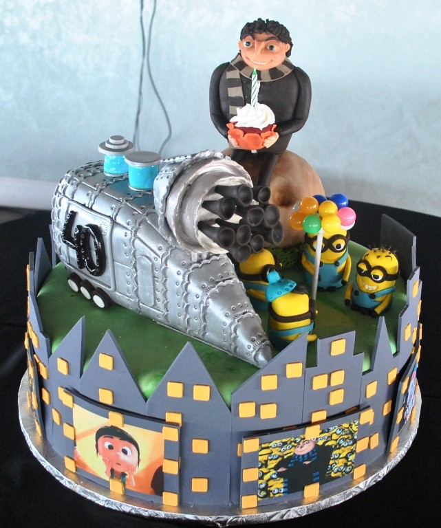 Despicable Me Birthday Cake The Cake Zone Fl The Cake Zone Flickr