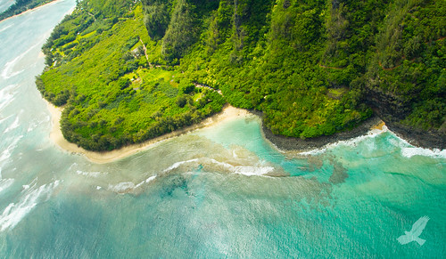 Birds Eye Haena State Beach Kauai | by Christian Arballo