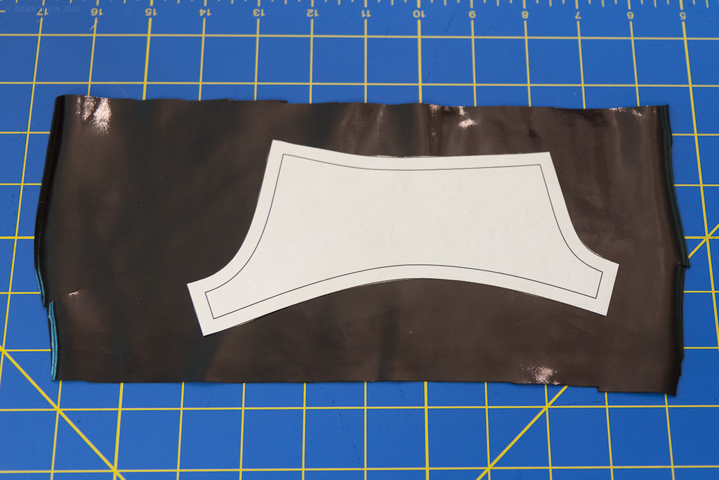 New Pattern: Hot Pants | Cutting out a piece | abs plastic | Flickr