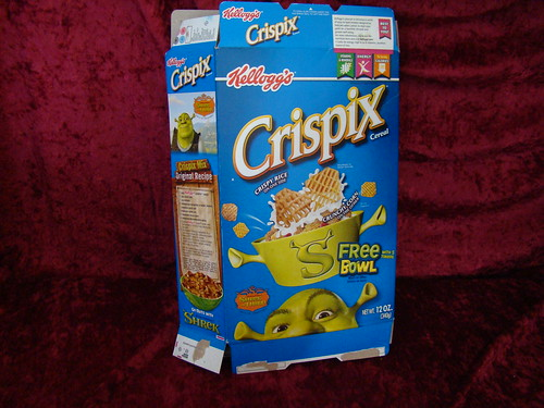 Crispix And White Chocolate Bunnie Food
