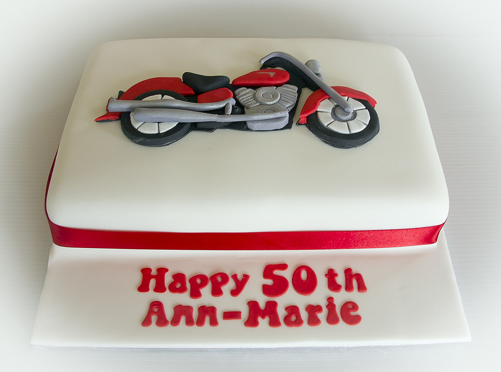 Red Yamaha Motorcycle Cake This Motorcycle cake was a glut Flickr