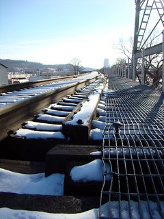 Railroad tracks in Lawrenceville, Feb. 20th 2015 | by Sally Ingraham
