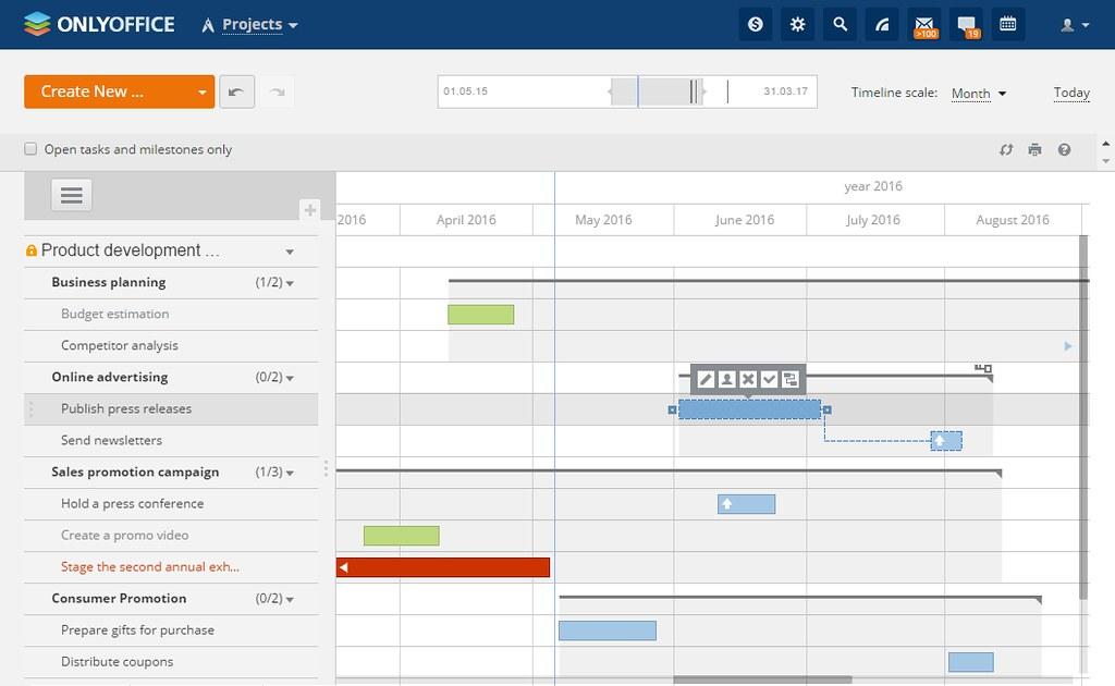 The Gantt Chart: ONLYOFFICE - gantt chart | How to set up a self-hosted projeu2026 | Flickr,Chart