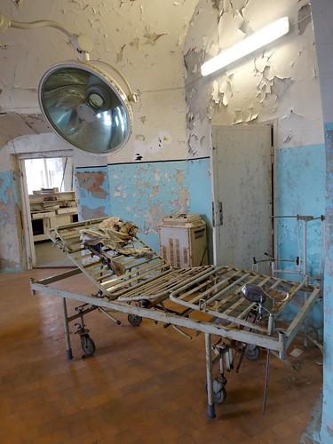 Operatietafel in Patarei, KGB-gevangenis in Tallinn
