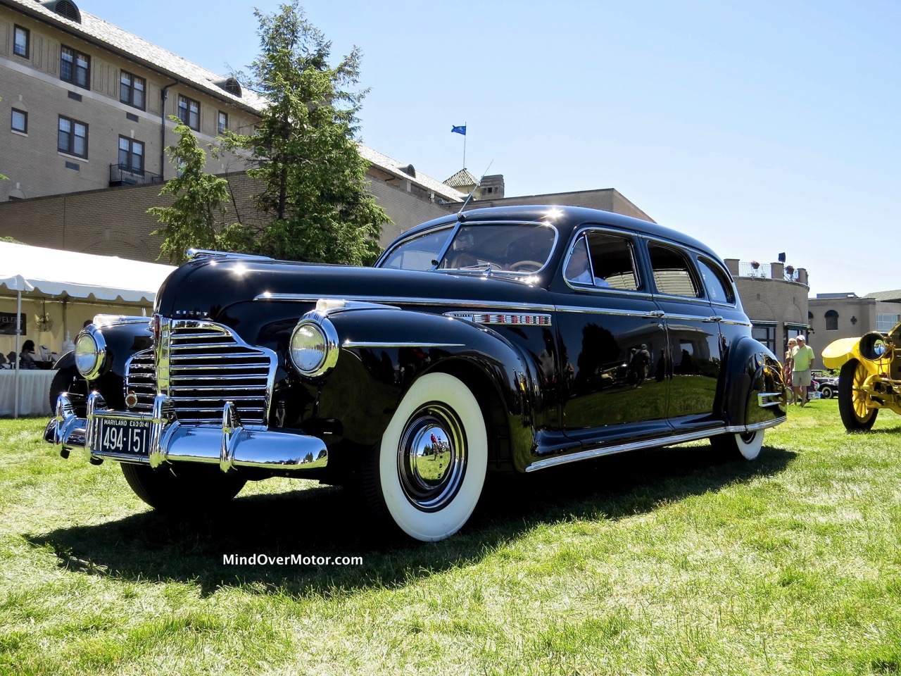 1941 Buick Limited Front Angle