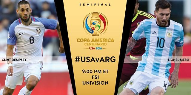 Copa América Centenario: Pocas horas para el USA - Argentina