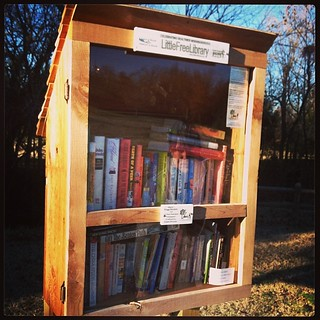 Little Free Libraries...all around Fayetteville... | by Farther Along