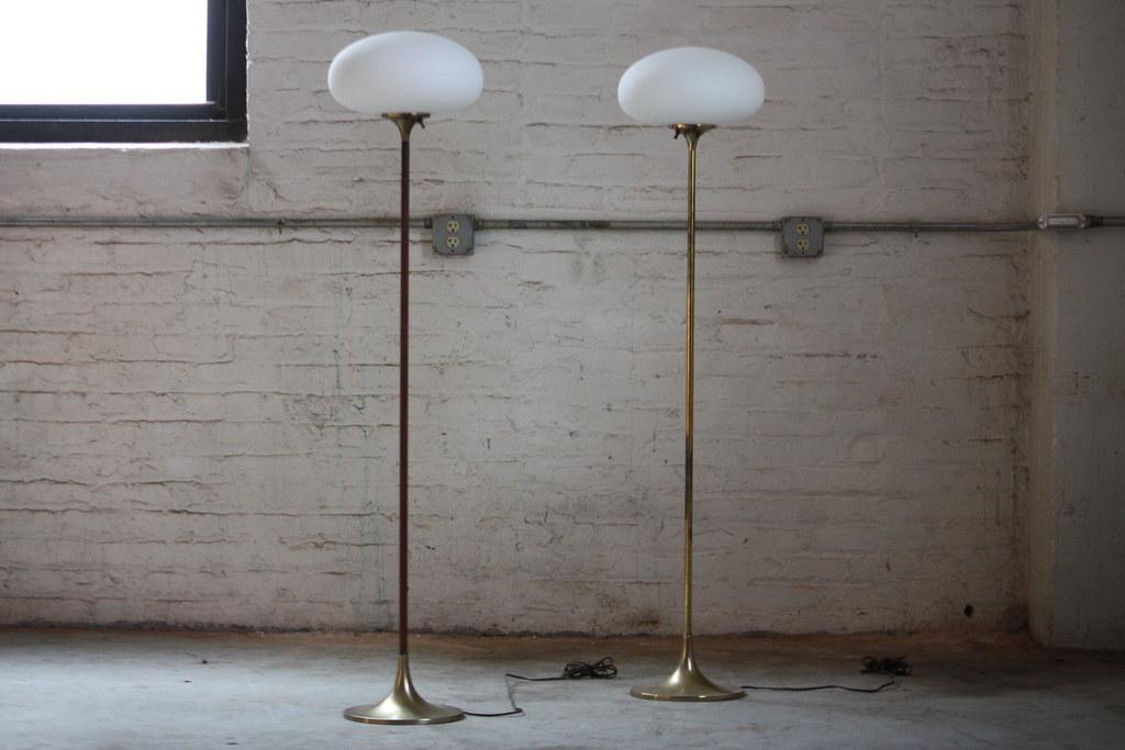 Enlightening mid century modern laurel mushroom floor lamp flickr enlightening mid century modern laurel mushroom floor lamps usa 1960s by kennyk mozeypictures Images