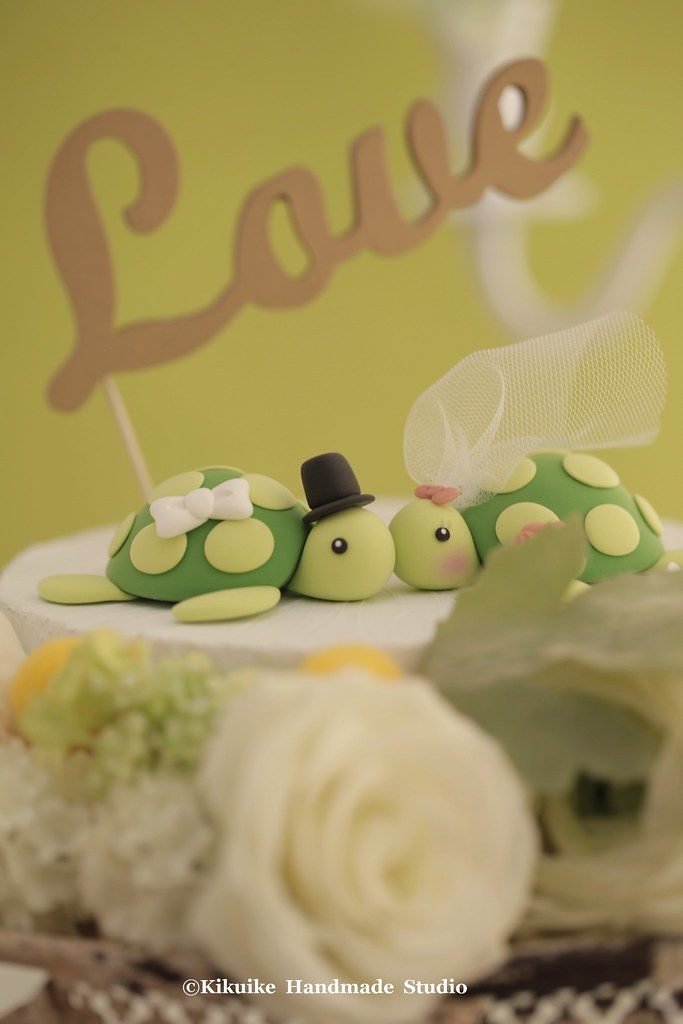 turtles Wedding Cake Topper   www.etsy.com/listing/192528747…   Flickr