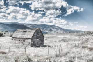 almost infrared penticton barn hdr | by light shift
