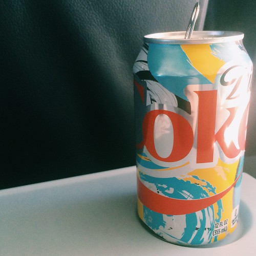 Trippy Diet Coke design. Great colors. | by adam.croom