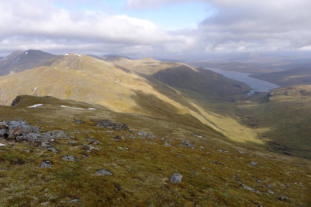 Loch Fannaich from A' Chailleach