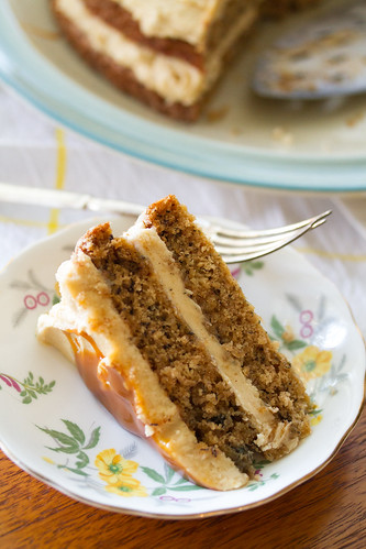 Chai Banana Cake with Brown Sugar Buttercream | by Isabelle @ Crumb
