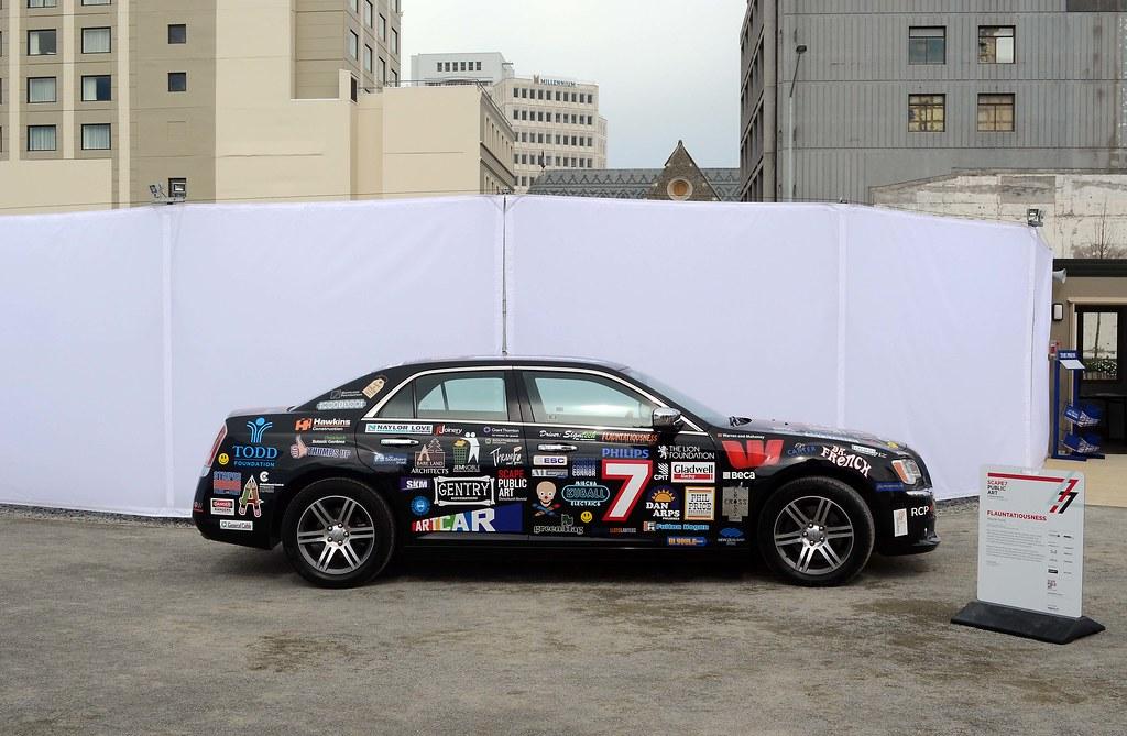 2013 Chrysler 300 Art Car Christchurch New Zealand Flau Flickr