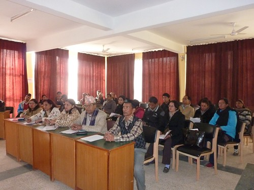 Participants at the Mgmt. Workshop with Kathmandu University | by nepallibraryfoundation