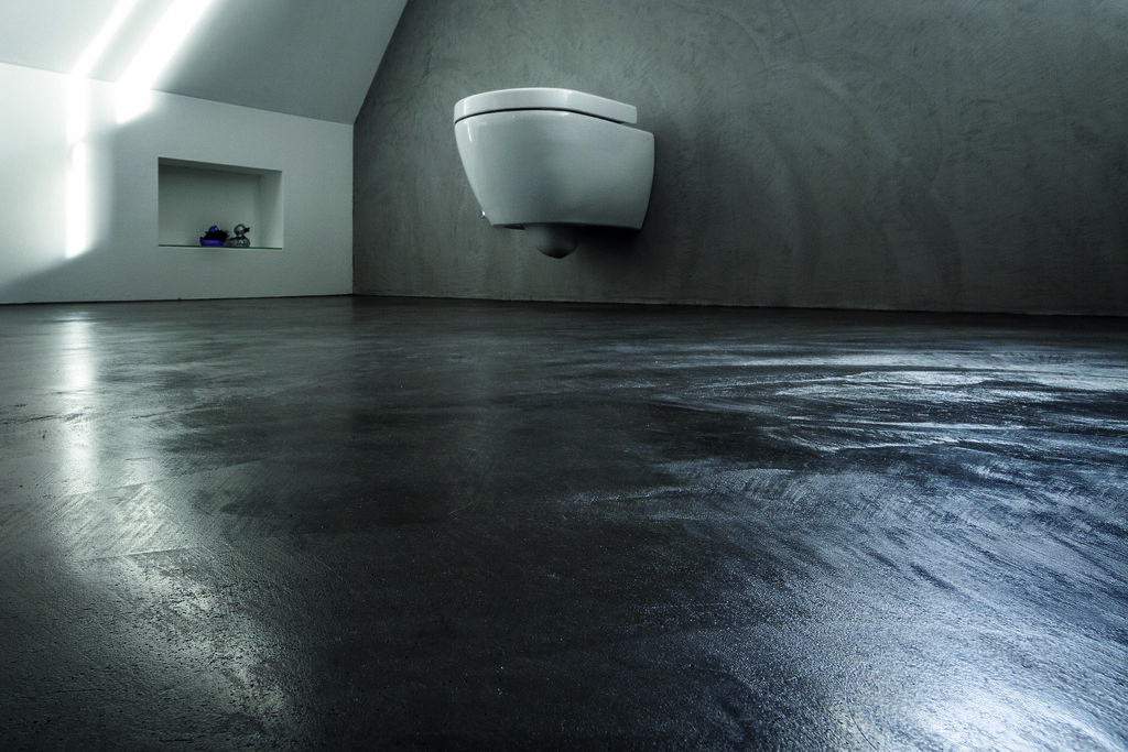 Bodenbelag Wc Beton Cire Floor Floor Design Ag Flickr