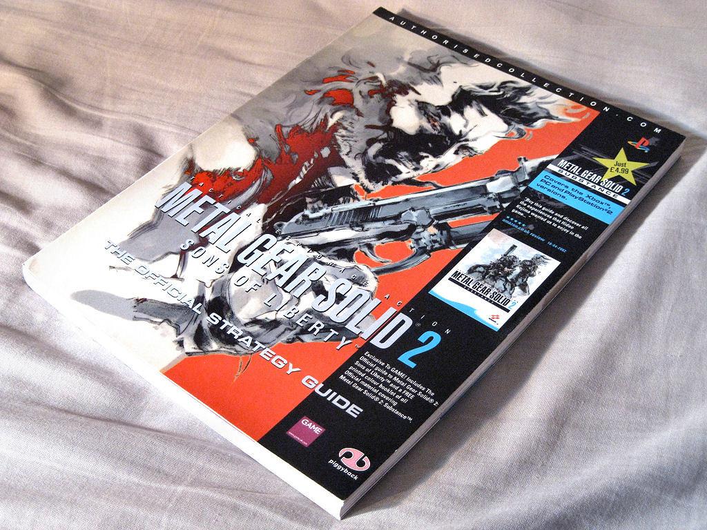 Metal gear solid 2 bradygames official strategy guide konami | ebay.