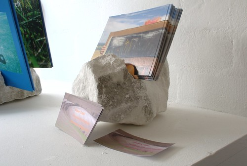 Alison Cotton - Land and Body : Cut Chalk Stand | by Dominic's pics