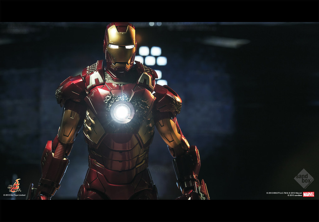 Hot Toys Iron Man Mark Vii A Quick Shot For My New Haul Flickr
